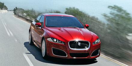 Facelift Für Den Jaguar Xf Ausdrucken österreich Oe24at