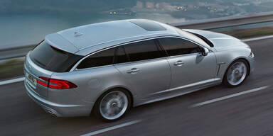 Weltpremiere des Jaguar XF Sportbrake