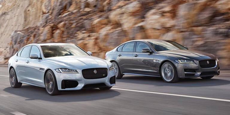 Jetzt startet der neue Jaguar XF