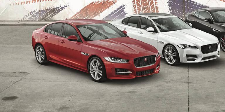 Jaguar rüstet den XE und den XF auf