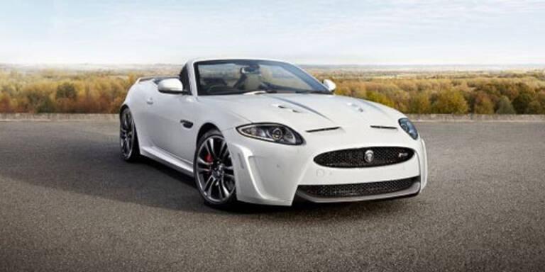 Jetzt bringt Jaguar den XKR-S als Cabrio