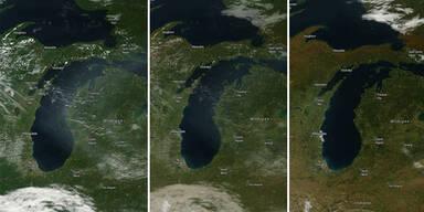 So sehen die Jahreszeiten vom Weltall aus