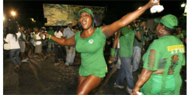 Regierungswechsel in Jamaika