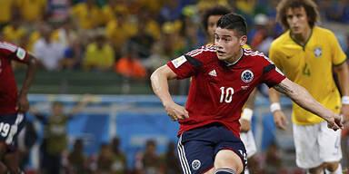 WM-Star James vor Wechsel zu Real