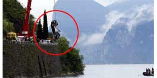 James Bond-Auto landete im Garda-See