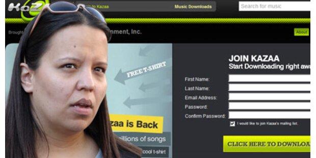 54.000 Dollar Strafe für 24 Songs