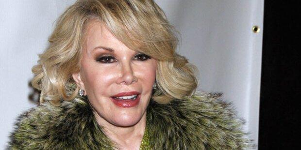 Autsch! Joan Rivers bestätigt 739 Eingriffe