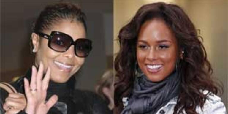 Janet Jackson und Alicia Keys