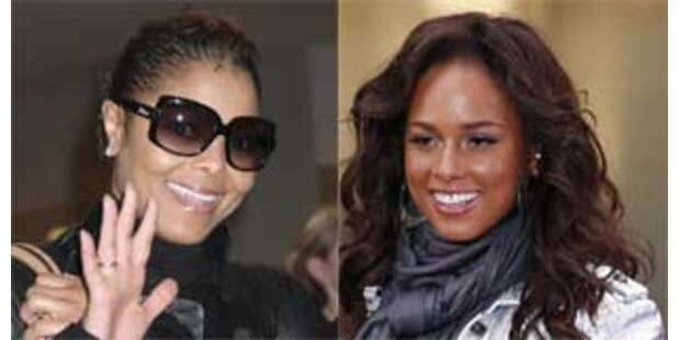 Janet Jackson ist scharf auf Alicia Keys