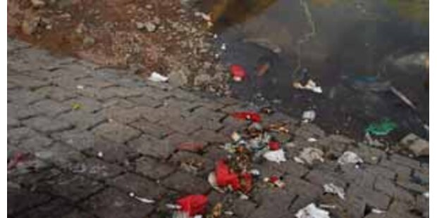 Mehr als 30 Mrd Tonnen Müll in den Jangtse gekippt