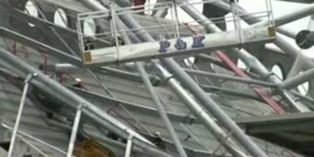 Stadiondach von Janko-Club eingestürzt