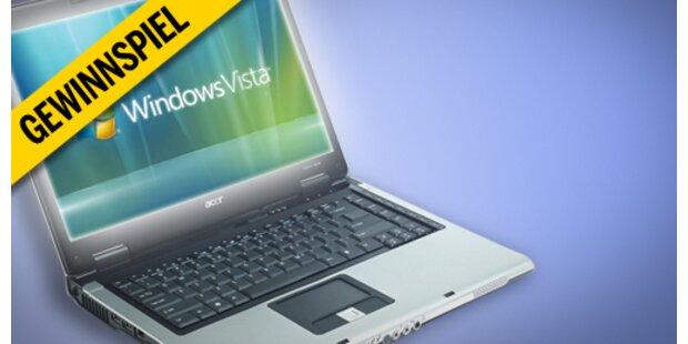 3x erstes Vista-Notebook zu gewinnen