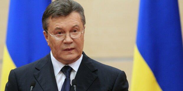 Janukowitsch räumt Mitverantwortung ein
