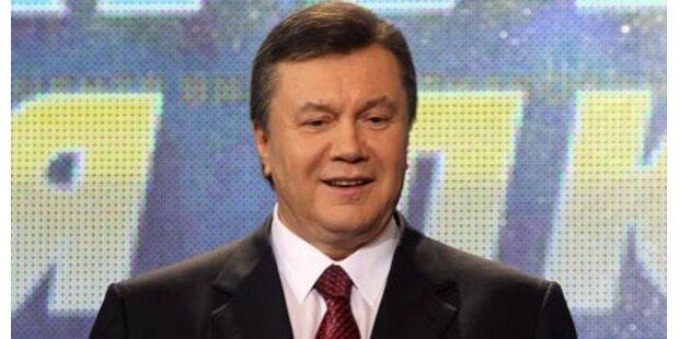 Janukowitsch neuer Präsident der Ukraine