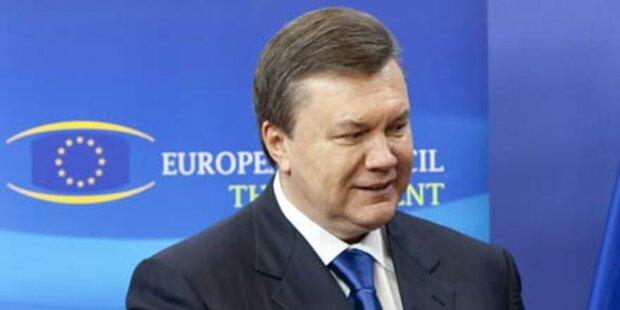 Janukowitsch sucht Nähe zur EU