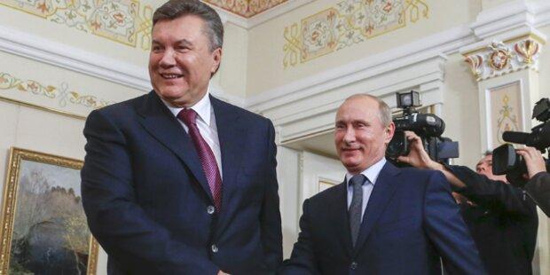Ukraine: Janukowitsch rückt näher an Putin