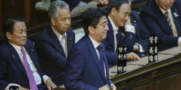 Japan verabschiedet neue Militärdoktrin