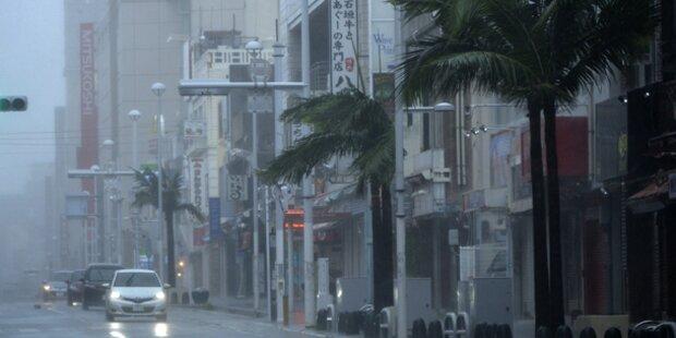 Japan zittert vor Mega-Taifun