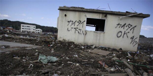Wieder erschüttert ein Erdbeben Japan