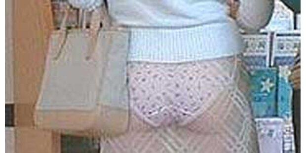 Röcke sehen aus, als wären sie durchsichtig