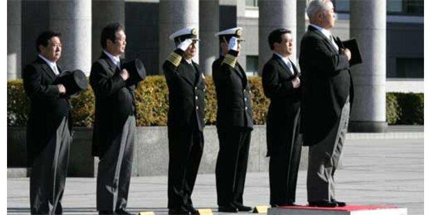 Japan hat wieder Verteidigungsministerium
