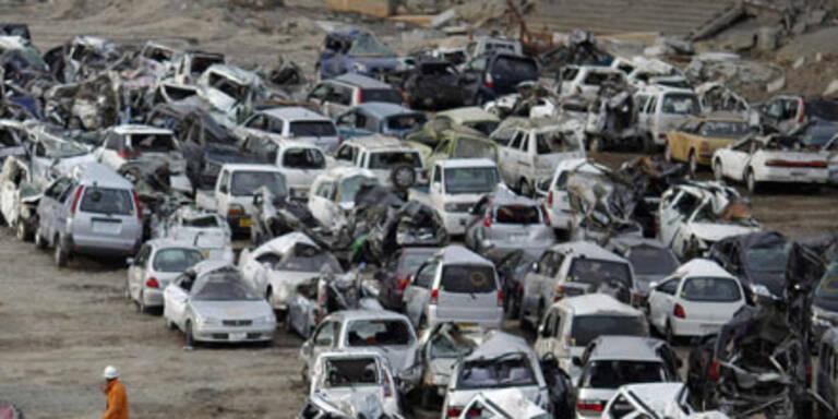 Japans Autoindustrie hängt nach Beben in den Seilen