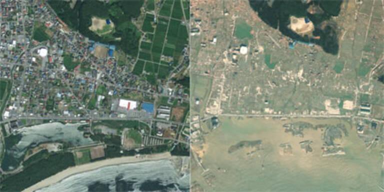 Die brutalen Bilder der Katastrophe in Japan