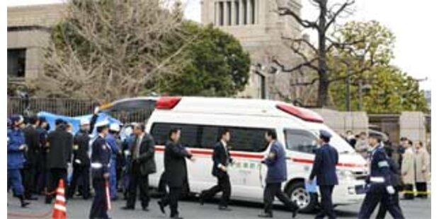 Mann erschoss sich vor japanischem Parlament