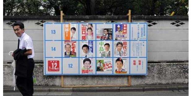 Neuwahlen in Japan festgesetzt