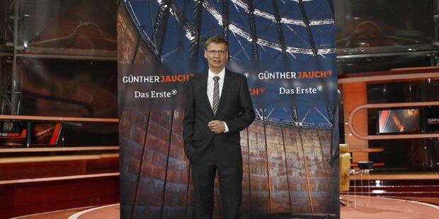 Günther Jauch talkt unter gläserner Kuppel