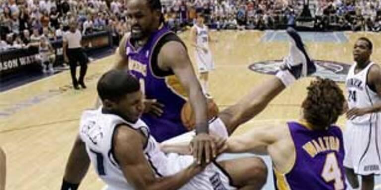 Jazz gleichen gegen Lakers aus