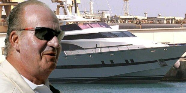 König Juan Carlos muss Yacht verkaufen