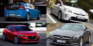 Die besten Automarken & Autos des Jahres