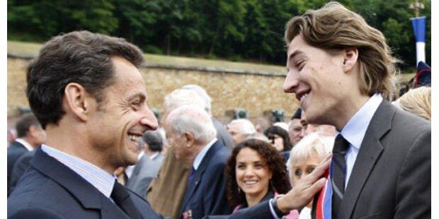 Sarkozys Sohn (23) erhält Mega-Job