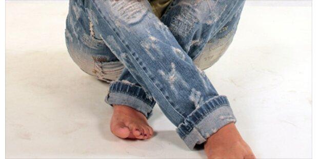 Trend Alert: Aufgerollte Jeans
