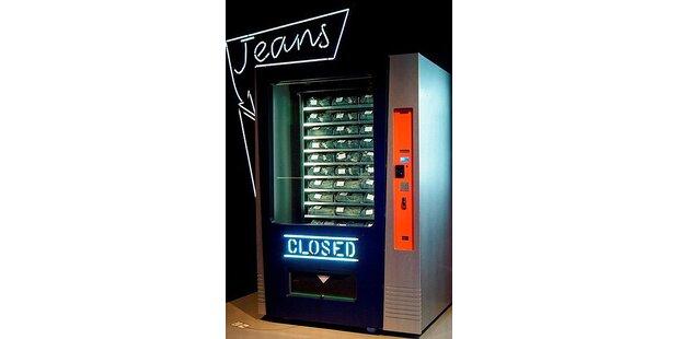 Es gibt jetzt Jeans aus dem Automaten