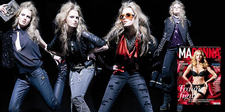 Glamouröse Jeans-Looks