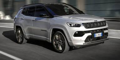 Großes Facelift für den Jeep Compass