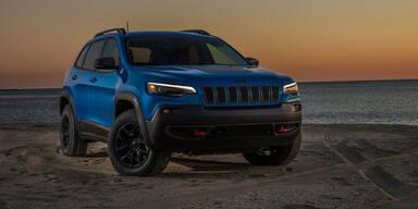 Jeep Cherokee mit neuem Top-Motor