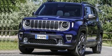 Großes Facelift für den Jeep Renegade