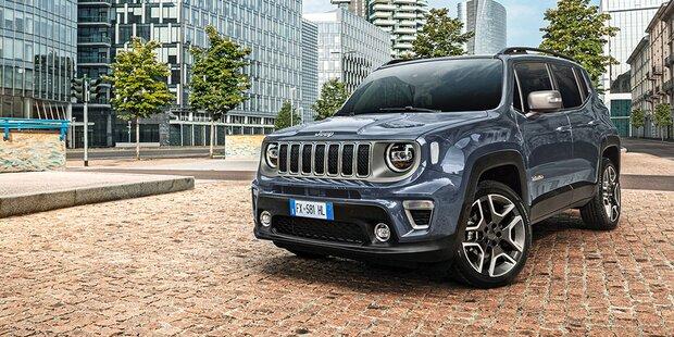 Jeep verpasst dem Renegade ein Update