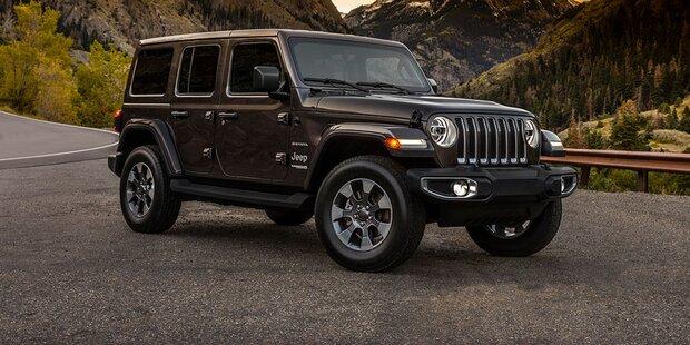Jeep greift mit völlig neuem Wrangler an