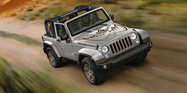 Jeep bringt den Wrangler