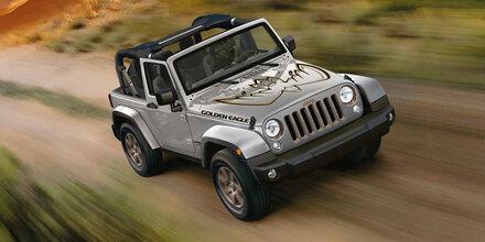 "Jeep bringt den Wrangler ""Golden Eagle"""