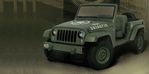 Cooler Jeep zum 75-jährigen Jubiläum