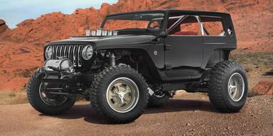 Jeep macht den Wrangler zum Hot Rod