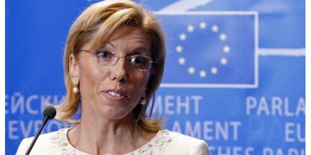 Mafiagerüchte um EU-Kommissarin