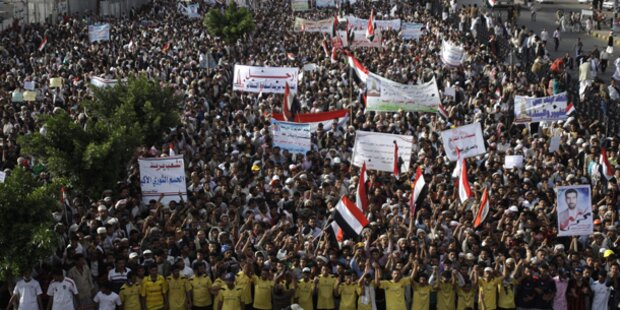 Ausschreitungen bei Protesten im Jemen