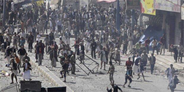 18 Tote bei Gefechten in Sanaa