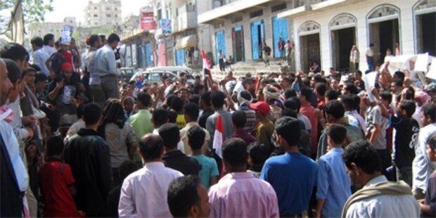 Regierungsgegner im Jemen erschossen